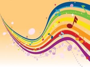 Portée musicale en couleurs
